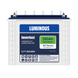 LUMINOUS INVERLAST ILTT 18048N 150AH Tall Tubular Battery