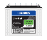 Luminous Life Max LM18075 150AH Tall Tubular Battery