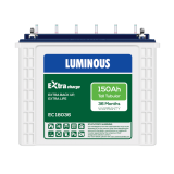 Luminous EC 18036 150AH Tall Tubular Battery