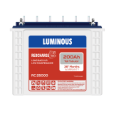 Luminous Red charge RC25000 200AH Tall Tubular Battery