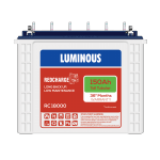 Luminous RED CHARGE - RC 18000 150AH Tall Tubular Battery