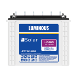 Luminous LPTT 12120H 120AH Solar Tubular Battery