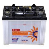 Exide 6LMS20 20AH Solar Tubular Battery