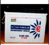 Exide 6LSM150 150AH Solar Tubular Battery