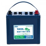 Tata Green 55D23L Silver Plus 54AH