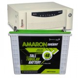 Microtek SEBz 900VA Pure Sine Wave Inverter and Amaron AAM-CR-CRTT150 150AH Tall Tubular Battery
