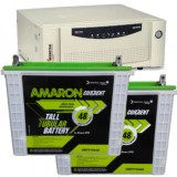 Microtek SEBz 1600VA Pure Sine Wave Inverter & Amaron AAM-CR-CRTT150 150AH Tall Tubular Battery