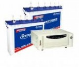 Microtek EB 1600VA Square Wave Inverter And  Mtekpower EB 1800TT 150AH Tall Tubular Battery