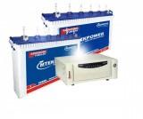 Microtek SEBZ 2000VA Pure Sine Wave Inverter & Mtekpower EB 1800TT 150AH Tall Tubular Battery
