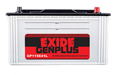 Exide Genset Battery